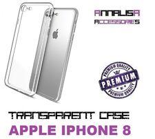 COVER TRASPARENTE APPLE IPHONE 8 CUSTODIA PROTEZIONE TPU TRANSPARENT SLIM CASE