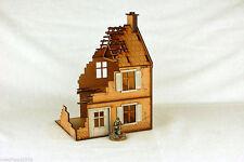 Segunda Guerra Mundial Europa destruida alquiler casa Edificio De Mdf De Corte Láser 28mm N025 de terreno