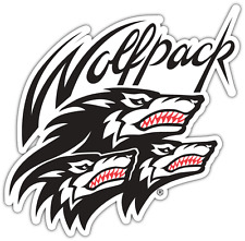 "North Carolina State Wolfpack NCAA Vinyl Car Bumper Window Sticker Decal 4.6""X5"""