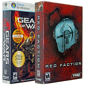 Gears of War: for Windows l Red Faction [Shooter Pack] [PC Game]