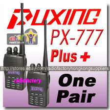 2pcs x Puxing PX-777 plus UHF avec Scrambler