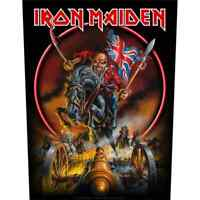 """IRON MAIDEN - """"MAIDEN ENGLAND"""" - LARGE SIZE - SEW ON BACK PATCH"""