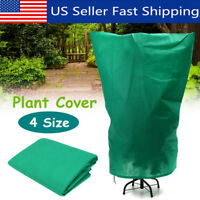 4 Size Green Warm Plant Cover Tree Shrub Frost Protection Bag Yard Garden  US