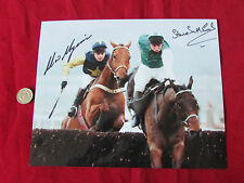 Steve SMITH-ECCLES & Adrian MAGUIRE Cheltenham 1993 Orig Hand SIGNED Press Photo