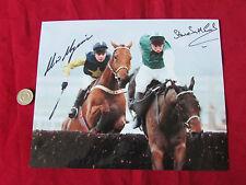 Steve SMITH-ECCLES & Adrian MAGUIRE Cheltenham 1993 Orig Hand SIGNED Press Photo