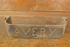 Vintage Antique Avery 191 Farm Tractor Machinery Equipment Cast Iron Tool Box