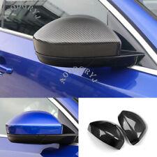 Dry carbon fiber Add-On Mirror Cover Cap 1 Pair For Jaguar E-PACE 2018-2019