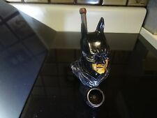 Batman Ceramic Tobacco  Smoking Pipe. 5 Free screens < no  Glass  ( PM 3022)