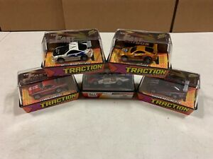 Auto World Johnny Lightning X Traction 5 Slot Car Bundle F&F Funny Car #E115