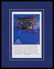 1965 Ford Thunderbird Framed 11x14 ORIGINAL Vintage Advertisement