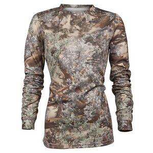 King's Camo Ladies Hunter Series Long Sleeve Shirt Desert Shadow