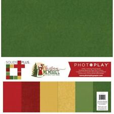 Photoplay - Christmas Memories - Solids Paper Pack