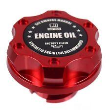 Red Oil Cap Filler Billet Anodized Racing Black Engine Oil Fits LS1 LS2 LS3 LS6