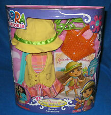 FISHER PRICE DORA THE EXPLORER DRESS UP COLLECTION BEACH ADVENTURE NEW