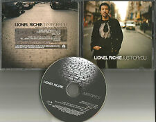 LIONEL RICHIE Just for You w/ REDIT & REMIX & INTERVIEW & ID PROMO DJ CD single