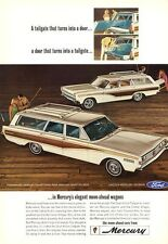 1966 Mercury Colony Park & Comet Villager Station Wagon PRINT AD