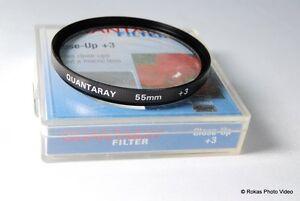 Used Quantaray 55mm +3 Close Up Filter macro