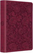 ESV Large Print Compact Bible (TruTone, Berry, Floral Design) (2015,...