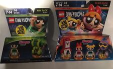 Lot of 2 Lego Dimensions 71346 and 71343 The Powerpuff Girls Team And Fun Pack