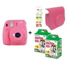 Fujifilm Instax Mini 9 FLAMANT ROSE + 40 balles + étui + GRATUIT Wall album