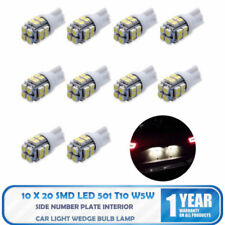 Car LED White Cool Cold Number Plate Parking Light Bulbs Globes