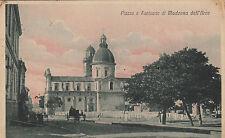 NP6524 - MADONNA DELL'ARCO NAPOLI - PIAZZA E SANTUARIO VIAGGIATA 1910