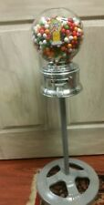 Vintage GLASS Ford gumball machine w/ stand - 10 Cent - converted from penny