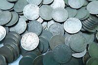 (20) Mixed Liberty V Nickel Lot // Good+ // 20 Coins