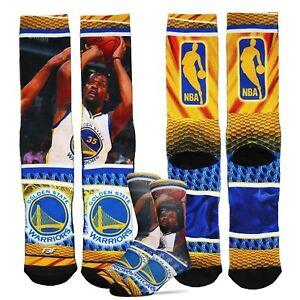 FBF Kevin Durant Hardplay Sublimated Crew Socks Large (10-13) Warriors 308S