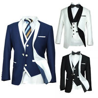 Exclusive Kids Tuxedos Boys Single Button Suit Boys Communion Tuxedo Suits