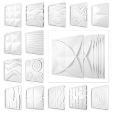 10qm 3D Paneele Deckenplatten Wanddeko PVC Kunststoffplatten 50x50cm, HD Serie 1