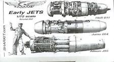 Sharkit Models 1/72 EARLY JET ENGINES SET