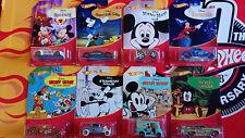 Hot Wheels Disney  Mickey Mouse  Choise/Choix lot ou à l'unitè ( 9984)