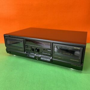TECHNICS RS-TR474M2 Twin Cassette Tape Deck - Tested, working.