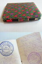 MINIBUCH: Handschrift Tagebuch Reisen 1924-26, 8,4 x 7 x 1,1 cm // mit Bleistift