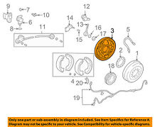 TOYOTA OEM 95-04 Tacoma Rear Brake-Backing Plate Splash Dust Shield 4704435160