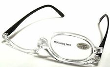 READING Ladies MAKE UP Optical EYE GLASSES  Women EYE CANDY Readers +3.50 Clear