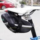 Waterproof Bike Bicycle Cycling Saddle Bag Pouch Tail Rear Storage Seat Pannier