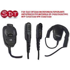 PJD-3603-DP2000 MICRO/HAUT-PARLEUR ANTI PROJECTION POUR MOTOROLA DP-2400/2600/