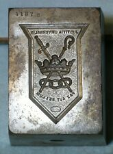 Antique 1906 ODD FELLOWS PATRIARCH MILITANT Belt Fob Stamping Die MC Lilley