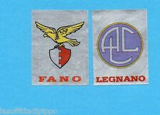PANINI CALCIATORI 1985/86 -FIGURINA n.532- FANO+LEGNANO -SCUDETTO-Rec