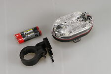 New 4x FRONT 9 LED Bright Bicycle Bike Head Light Wide Beam