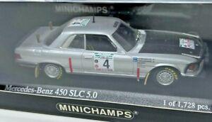 Minichamps Mercedes 450 SLC 5.0 #4 Bandama Rally 1979 Waldegaard 1/43 <z02>