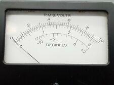1 NOS Weston RMS Volts / Decibels meter. 0 -1.0