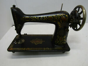 OLD CAST IRON SINGER TREDDLE SEWING MACHINE #6226456S PART