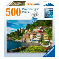 Lake Como 500 Piece Jigsaw Puzzle by Ravensburger - Free Shipping - New Brand