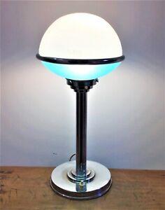 L. Bosi & Cie – Lampe Art-Déco ILRIN-JLRIN modèle 135 années 30 – Hauteur 38 cm