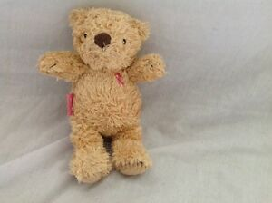 M&S MARKS SPENCER BEAR LIMITED EDITION TICKLED PINK TEDDY BEAR COMFORTER