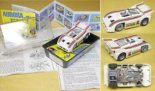 1978 Aurora AFX Magnatraction Porsche Audi 510K #6 Can-Am IMSA Sport HO Slot Car