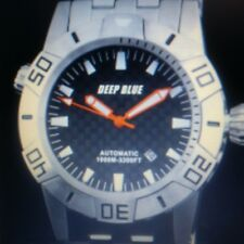 Super Rare- Deep Blue Master Explorer - 1000m Auto Diver - out of production